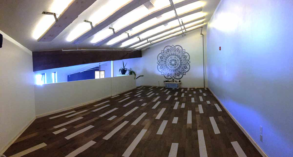 Practice yoga at Yoga Lila - a beautiful space for self-work in Steamboat Springs Colorado